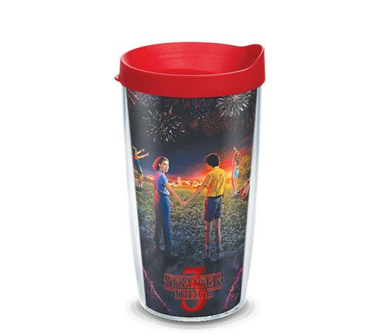 Stranger Things Season 3 Poster Wrap 16oz. Tumbler by Tervis