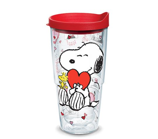 Peanuts™ Valentine's Day Wrap 24oz. Tumbler by Tervis