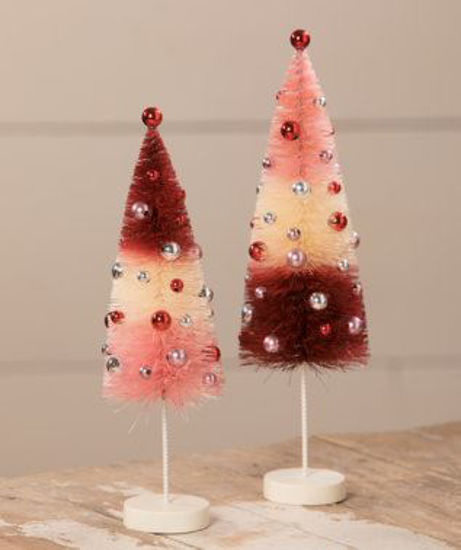 Valentine Tricolored Trees by Bethany Lowe Designs