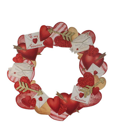 Valentine Dummy Board Wreath  by Bethany Lowe Designs