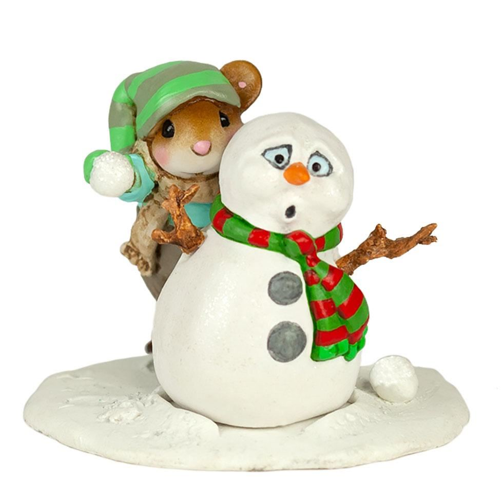 Snowball Fright M-597a by Wee Forest Folk®