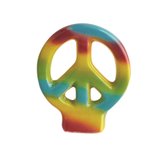 Peace Out! (Peace Sign) Mini by Nora Fleming