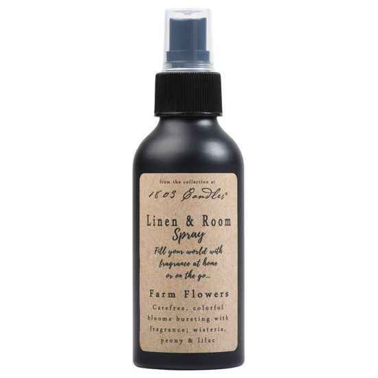 Farm Flowers Linen & Room Spray by 1803 Candles