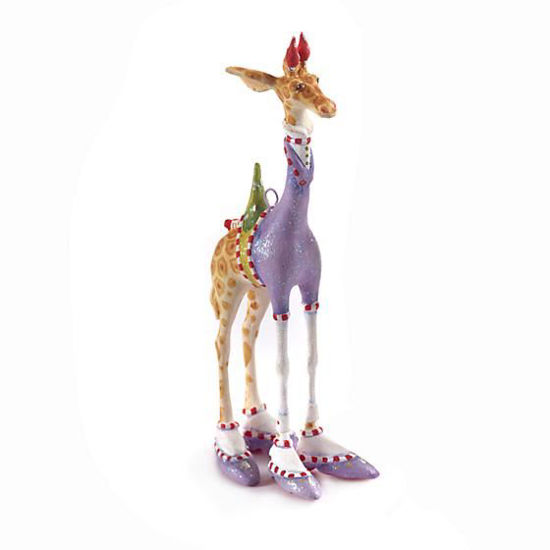 George Giraffe Mini Ornament by Patience Brewster