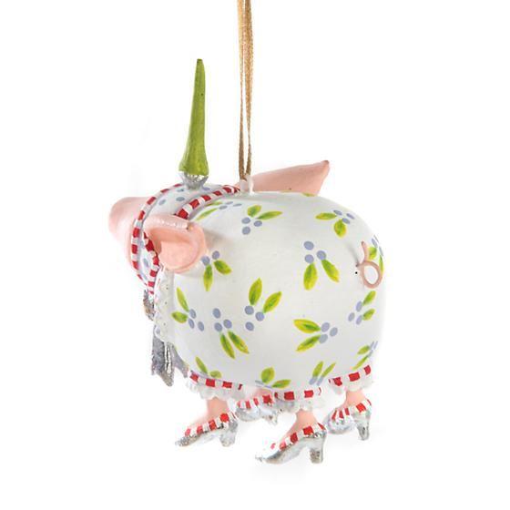Noah's Ark Nanette Pig Mini Ornament by Patience Brewster
