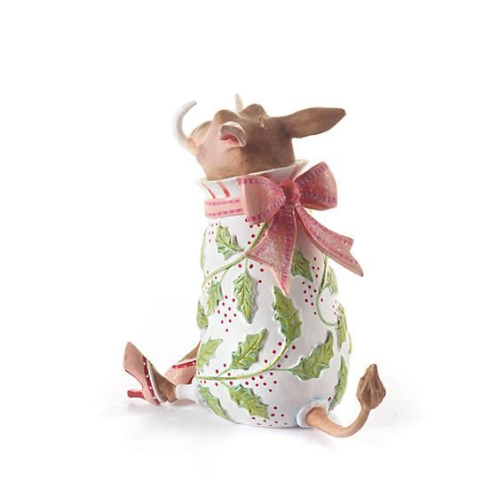 Winifred Warthog Ornament by Patience Brewster