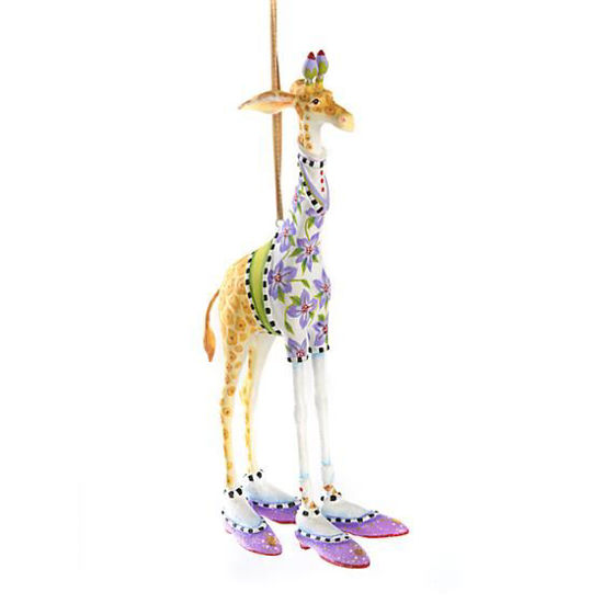 George Giraffe Ornament by Patience Brewster
