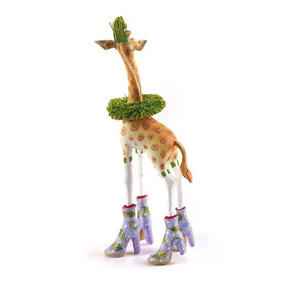 Janet Giraffe Mini Ornament by Patience Brewster