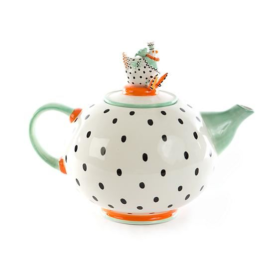 Speckled Chicken Teapot by Patience Brewster
