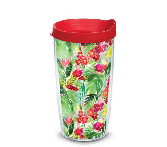 Yao Cheng - Tropical Bloom 16oz. Tumbler by Tervis