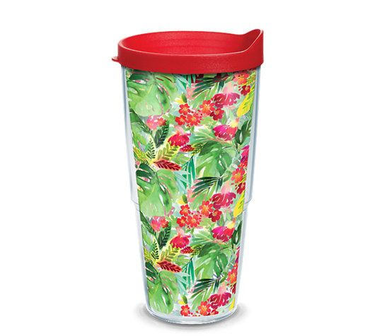 Yao Cheng - Tropical Bloom 24oz Tumbler by Tervis