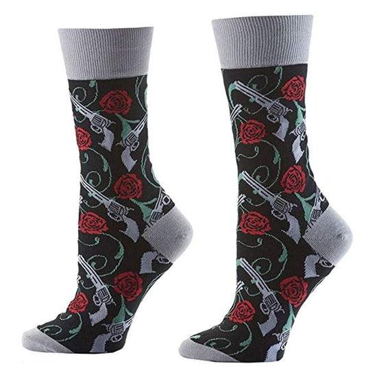 Guns and Roses Women's Crew Socks by Yo Sox
