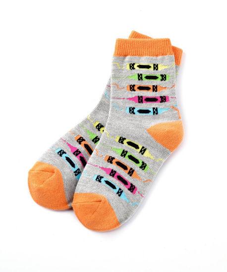 Let's Color Kids Socks by Yo Sox