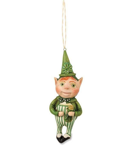 Lucky Leprechan Ornament  by Bethany Lowe Designs