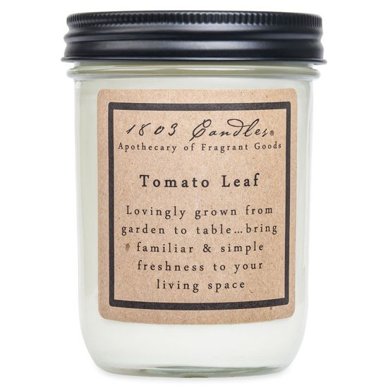 Tomato Leaf Jar by 1803 Candles