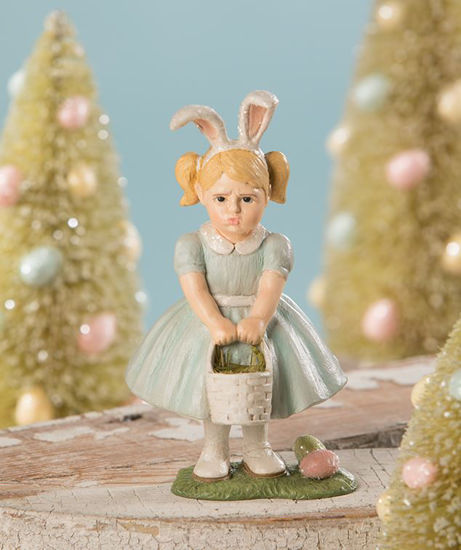 Pouting Easter Girl by Bethany Lowe Designs