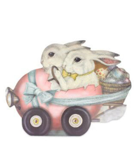 Rabbit Roadster by Bethany Lowe Designs