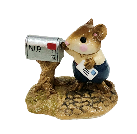Pen Pal Mousey M-114 by Wee Forest Folk®