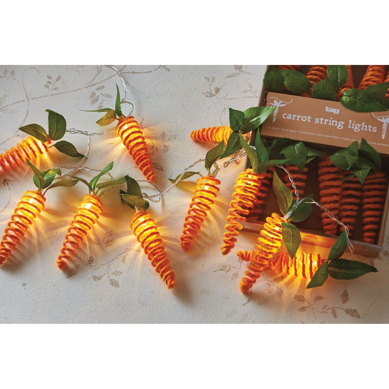 Carrot String Lights by Tag