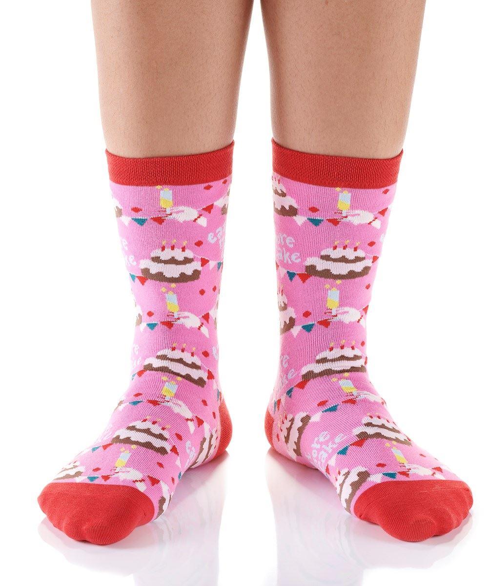 Birthday Bash Women's Crew Socks by Yo Sox