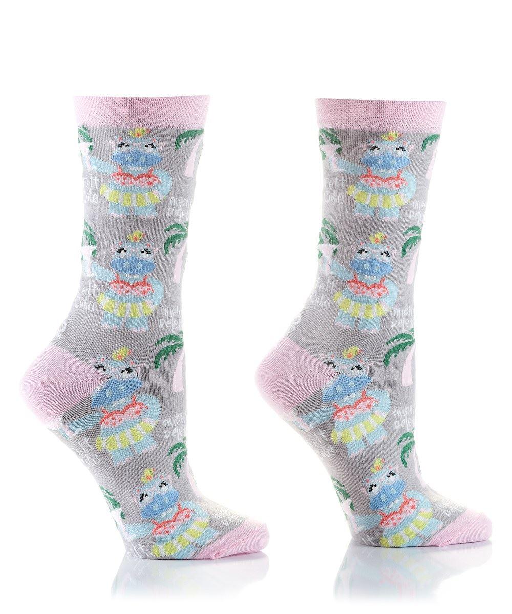 Summer Vibes Women's Crew Socks by Yo Sox