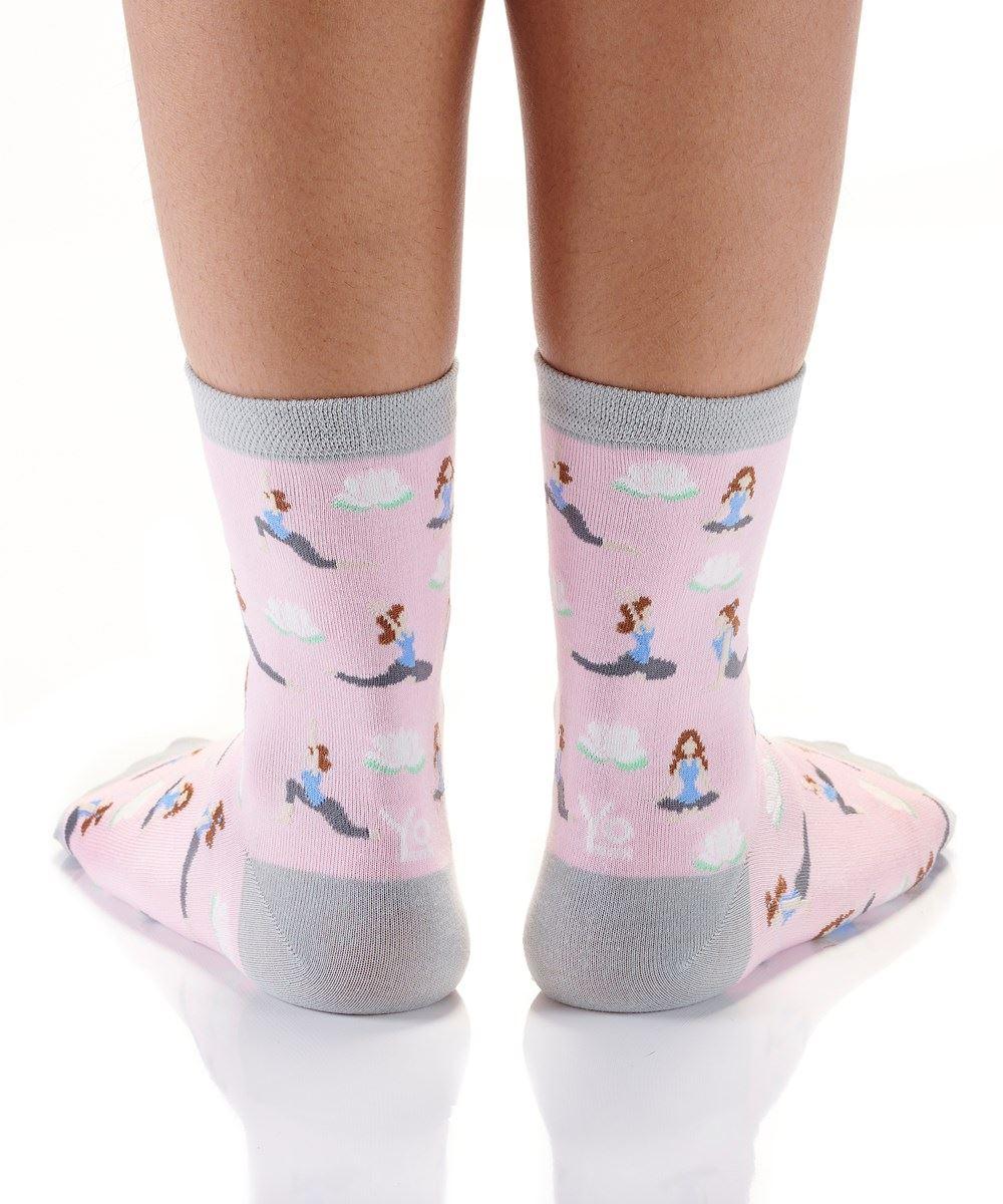 Yoga Fitness Women's Crew Socks by Yo Sox