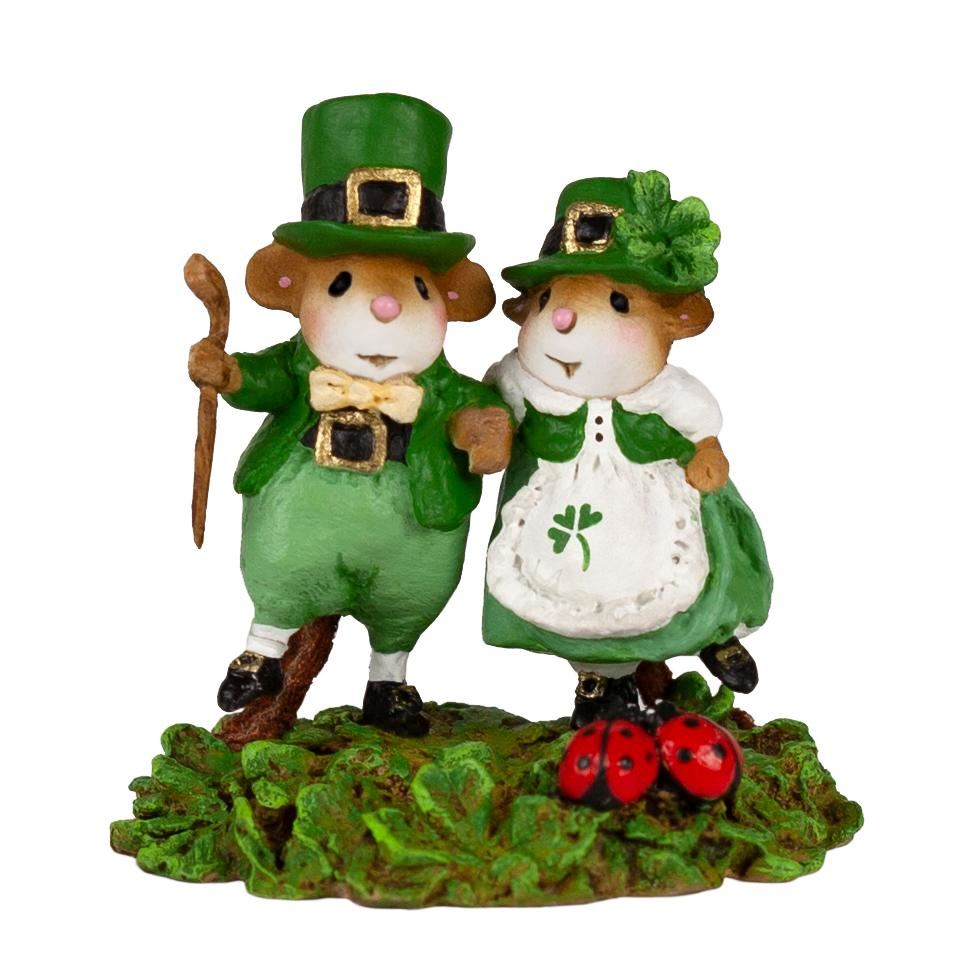 St. Patty's Day Promenade M-393c by Wee Forest Folk®