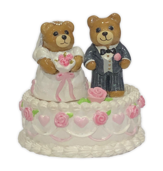 Wedding Bears T-09 by Wee Forest Folk