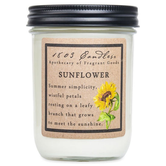 Sunflower Jar by 1803 Candles