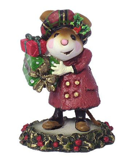 Mary's Christmas M-326 Burgundy by Wee Forest Folk®