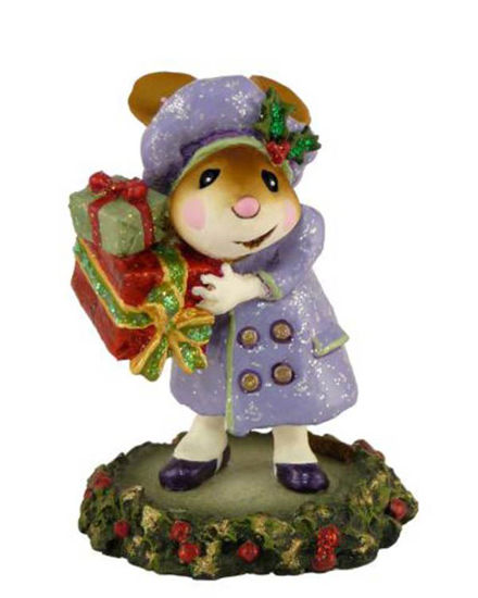 Mary's Christmas M-326 Purple by Wee Forest Folk®