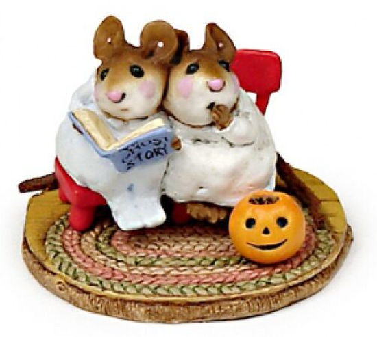Scary Stories M-225 White by Wee Forest Folk®