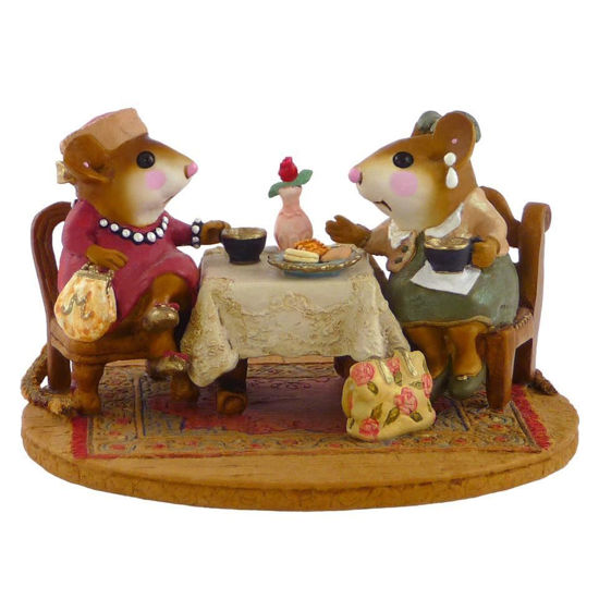 Tea with Tillie M-285   by Wee Forest Folk