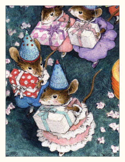Birthday Note Card by Wee Forest Folk®