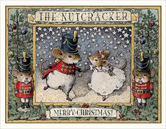 The Nutcracker Note Card by Wee Forest Folk®