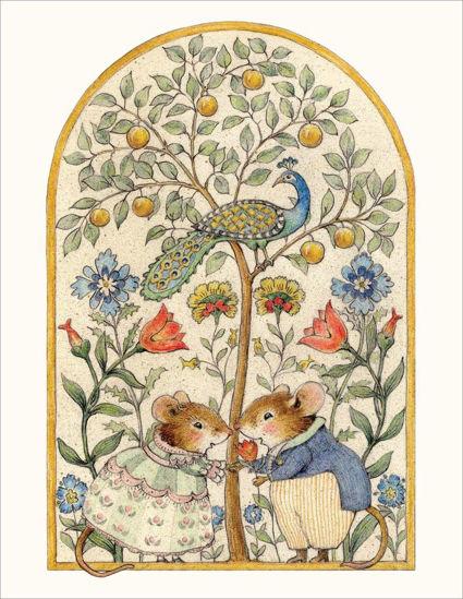 Wee Folk Mice Note Card by Wee Forest Folk®