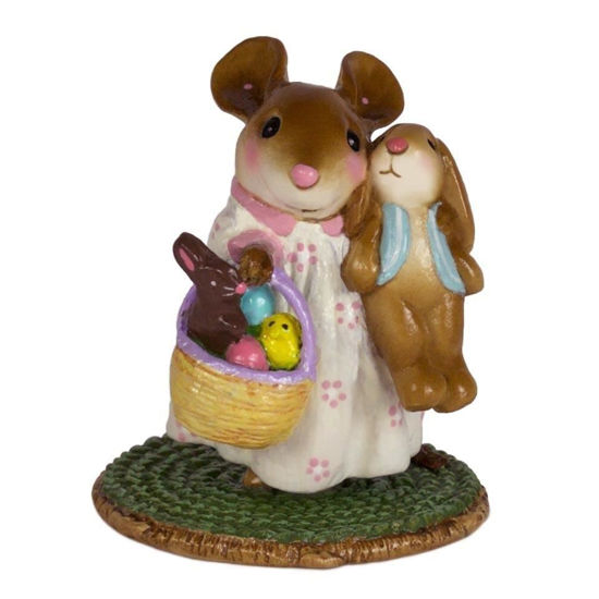 Easter Morning Surprise M-524 Yellow by Wee Forest Folk®