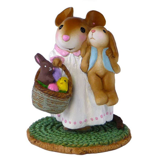 Easter Morning Surprise M-524 Green by Wee Forest Folk®