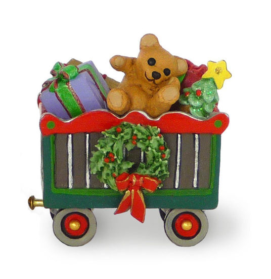 Christmas Box Car M-453a by Wee Forest Folk®