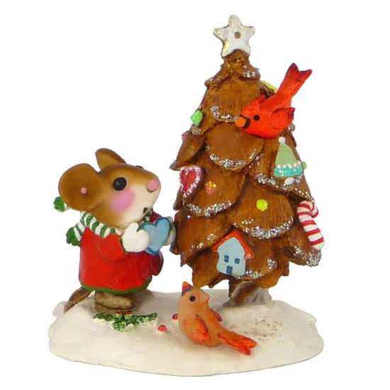 The Littlest Pine Cone Tree TM-06 by Wee Forest Folk®
