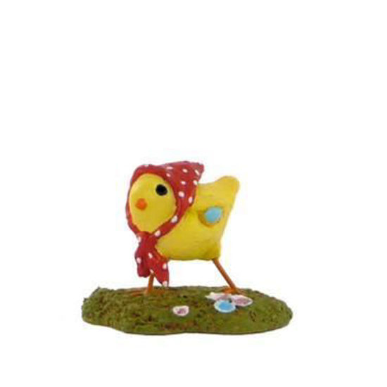 Little Chick with Kerchief A-02 Red by Wee Forest Folk®