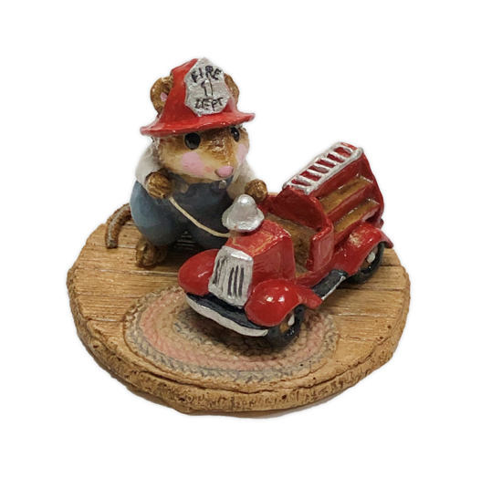 Little Fire Chief M-077 by Wee Forest Folk®