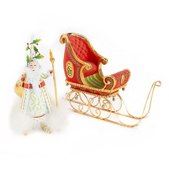 Dash Away Sleigh Ornament by Patience Brewster