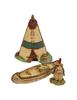 Birch Bark Canoe Displayer by Habitat Hideaway