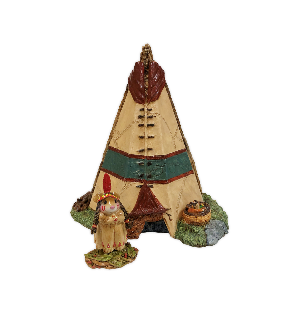 Teepee Displayer by Habitat Hideaway
