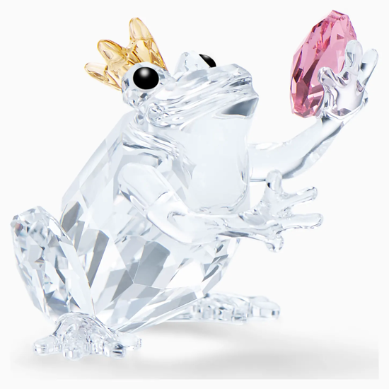 Frog Prince by Swarovski