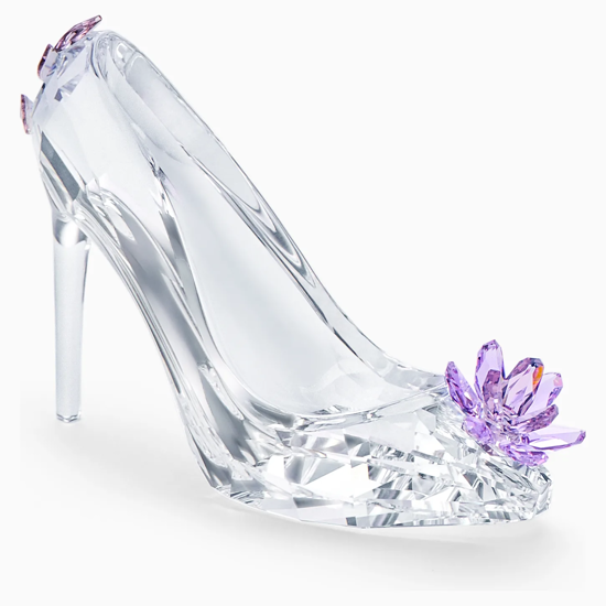Shoe with Flower by Swarovski
