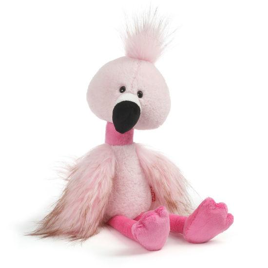 "Toothpick Roxanne Flamingo 16"" by Gund"
