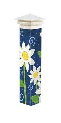 "Daisy Blue 20"" Art Pole by Studio M"