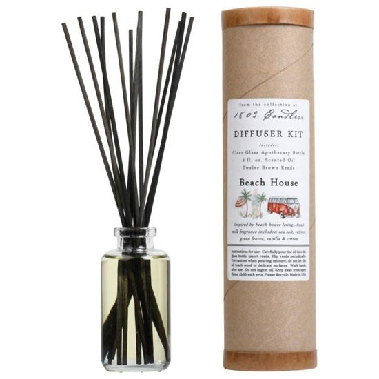 Beach House Diffuser Kit  by 1803 Candles